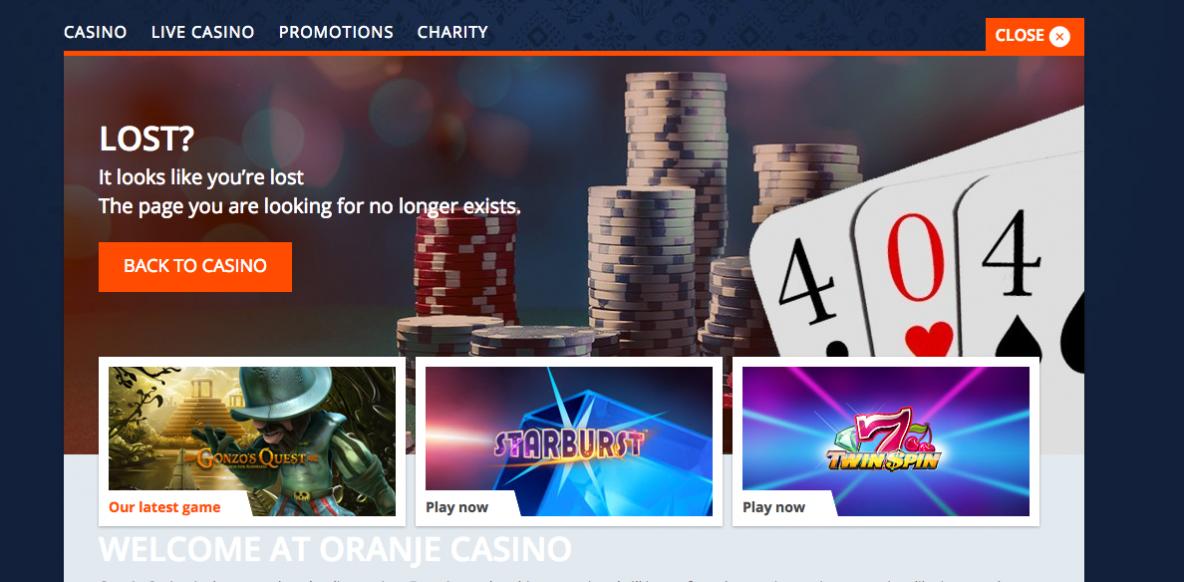 Oranje Casino Recensie